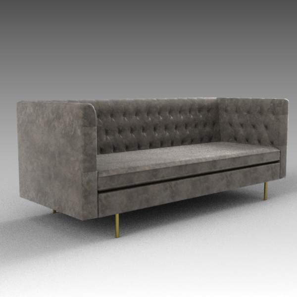 Barnaby sofa 3D Model