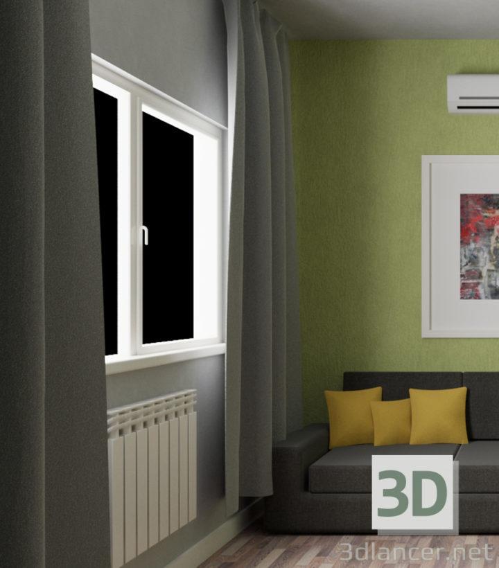 3D-Model  blind