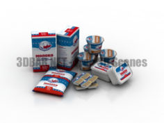 Dairy produce 3D Collection
