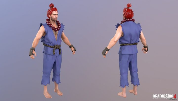 Frank West Akuma Costume 3D Model