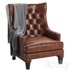 Maximus Wingback Chair                                      3D Model