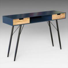 Milner Console Table 3D Model