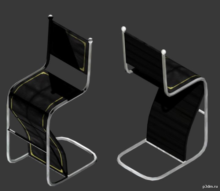 Covergroup Bar Stool 3D Model