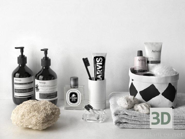 3D-Model  Bathroom decor