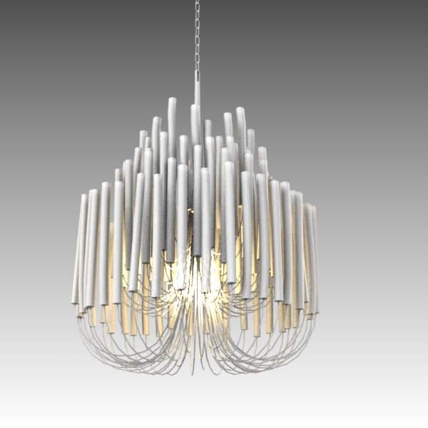 Tilda small chandelier 3D Model