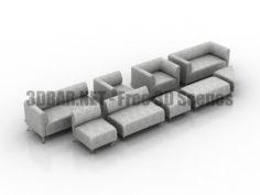 Lider avanta sofas 3D Collection