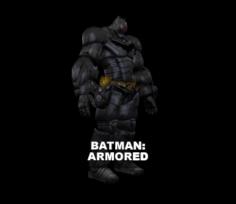 Batman (armored) 3D Model