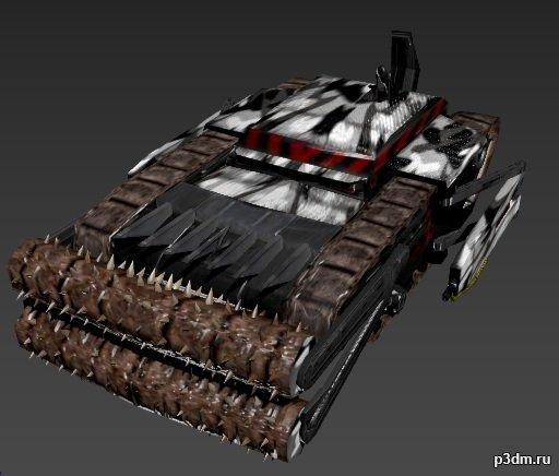 Command & Conquer 3D Model