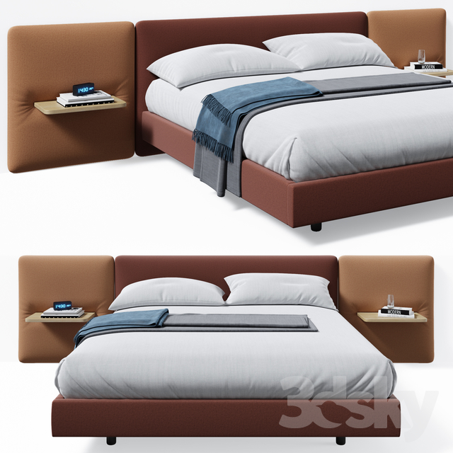 Lota bed                                      3D Model