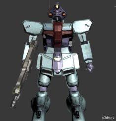 Gundam X Dotores 3D Model