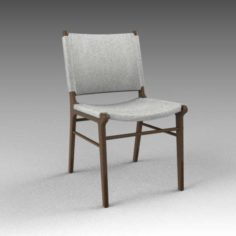 Wagner dining chair 3D Model