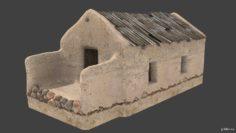 Afghan house 3D 3D Model