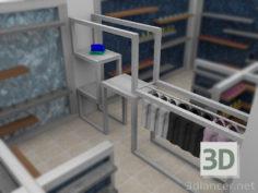 3D-Model  closet