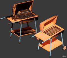 grill 3D Model in  MAX,  FBX,  C4D,  3DS,  STL,  OBJ,  BLEND,  DWG