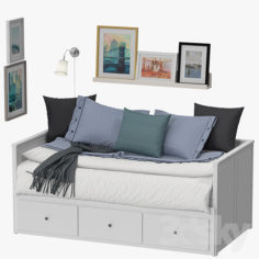 Ikea hemnes bed                                      3D Model