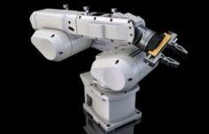 Industry Robot Arm 3D Model