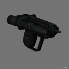 Scout trooper blaster pistol 3D Model