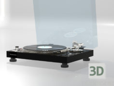 3D-Model  Turntable