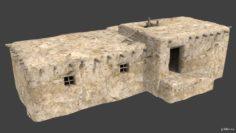 Afghan house 3F 3D Model