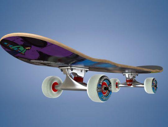 3D Skate Model For Cinema 4D