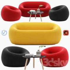 Serie up 2000 sofa                                      3D Model