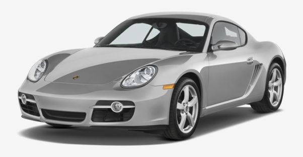 Porsche Cayman S 2006 3d model