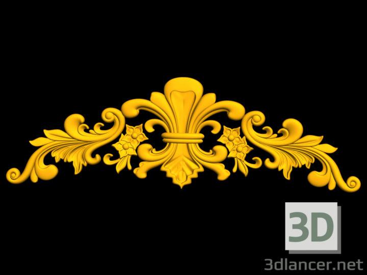 3D-Model  Ornament, carving, stucco