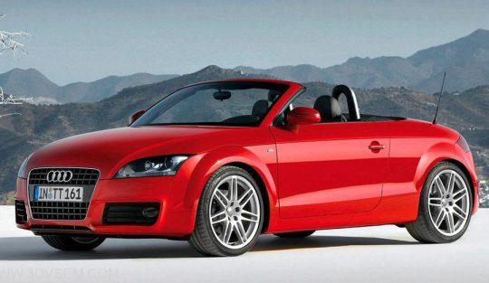 Audi TT Cabrio 3D Model