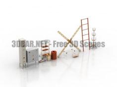 SPRUTT IKEA Kitchen accessories 3D Collection