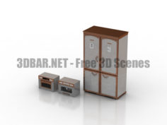 RESTART Refrigerator Coffee machine Microwave 3D Collection