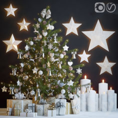 Christmas Tree 4                                      3D Model
