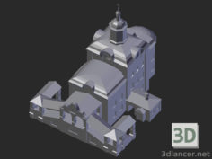 3D-Model  Smolensk. Trinity Cathedral