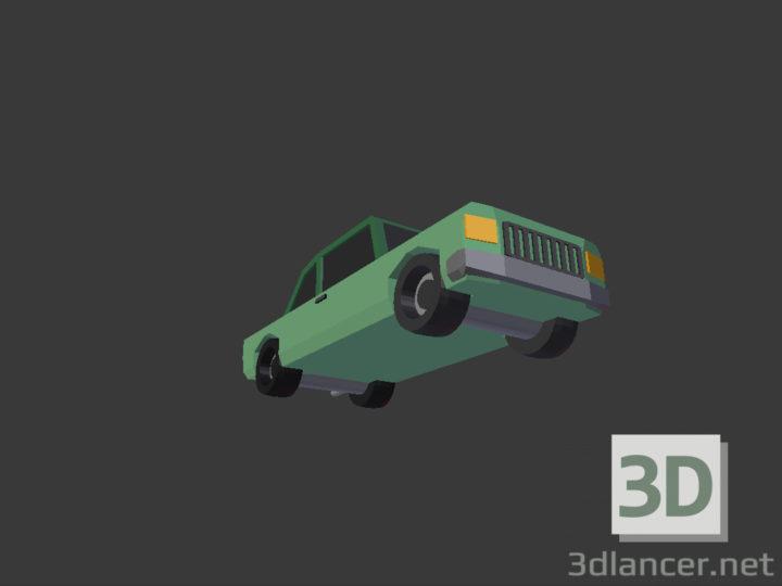3D-Model  City sedan
