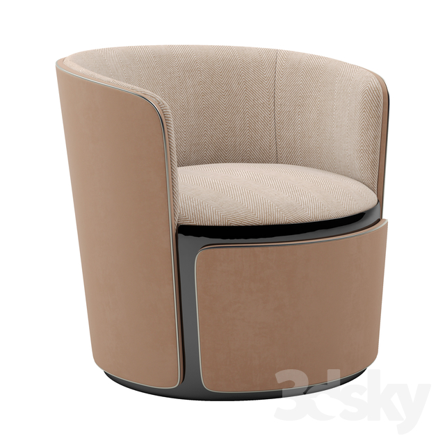 Bentley Home Mere armchair                                      3D Model