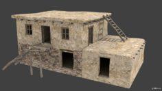 Afghan house 3C 3D Model