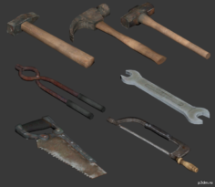 Smithing Tool 3D Model