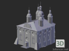 3D-Model  Smolensk. Assumption Cathedral