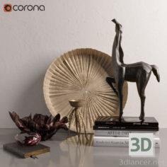3D-Model  Decor set