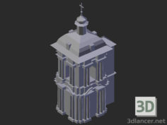 3D-Model  Bell tower of the Assumption Cathedral