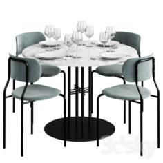 GUBI Dinning Set 2                                      3D Model