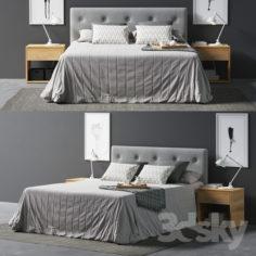 Arran bed                                      3D Model