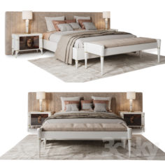 Francesco Pasi bedroom set                                      3D Model