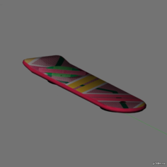 Overboard 3D Model