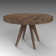 Parq round table 3D Model