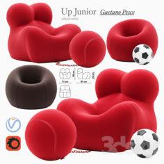 Up Junior armchair                                      3D Model