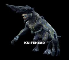 Knifehead 3D Model