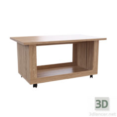 3D-Model  Oscar coffee table