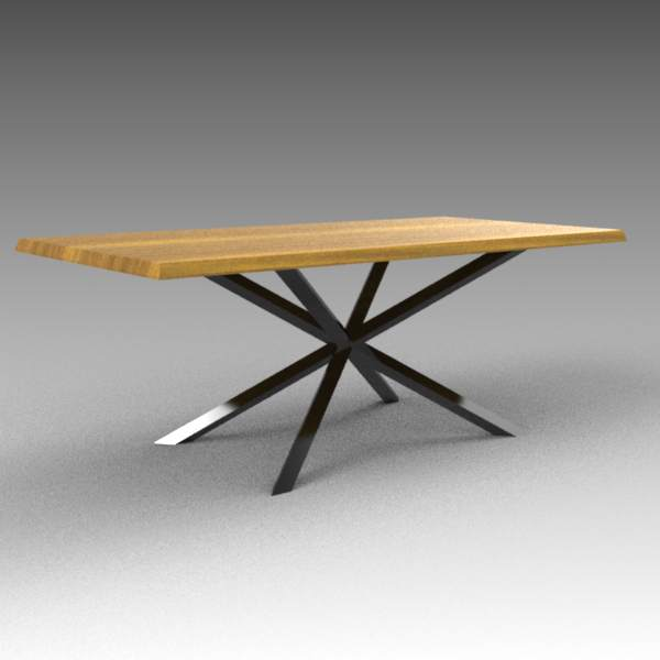 Oslo dining table 3D Model