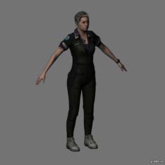 Amanda Ripley 3D Model