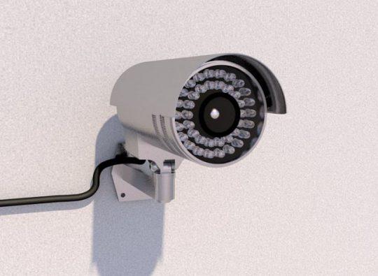 Security Cam 3D Model